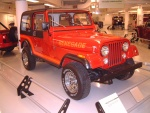 1986 Jeep CJ-7 Renegade Red fvr Garage (WPC Museum) F