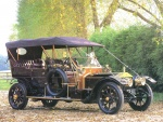 1907 Rolls-Royce 40-50 Silver Ghost Touring Car Black fvr