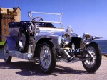 1907 Rolls-Royce Silver Ghost Touring Car Silver fvr