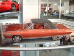 1963 Chrysler Turbine Car on Museum Vehicle Display Tower hsvl (WPC Museum) F