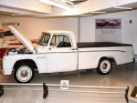 1964 Dodge Custom Sport Special Pickup with 426 Street Wedge Engine White svl Garage (WPC Museum) N