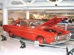 1964 Plymouth Belvedere Hardtop Richard Petty's Car NASCAR 426 Hemi Race Car Bright Red fvr Garage(WPCMuseum)N