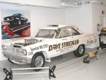 1965 Dodge Coronet 426 Fuel Injected Hemi A-FX Altered WB Funny Car Dave Strickler fvlr Garage (WPC Museum) N